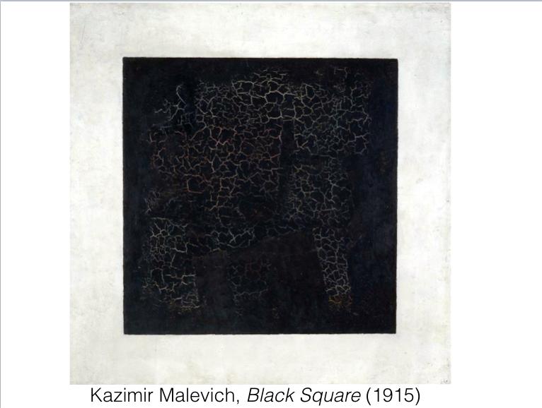 Malevich Black Square 1915