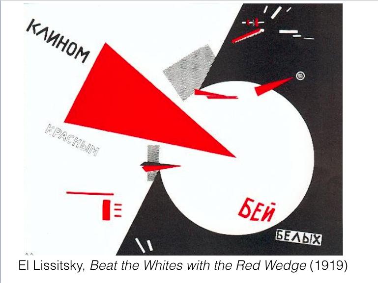 El Lissitsky Red Wedge 1919