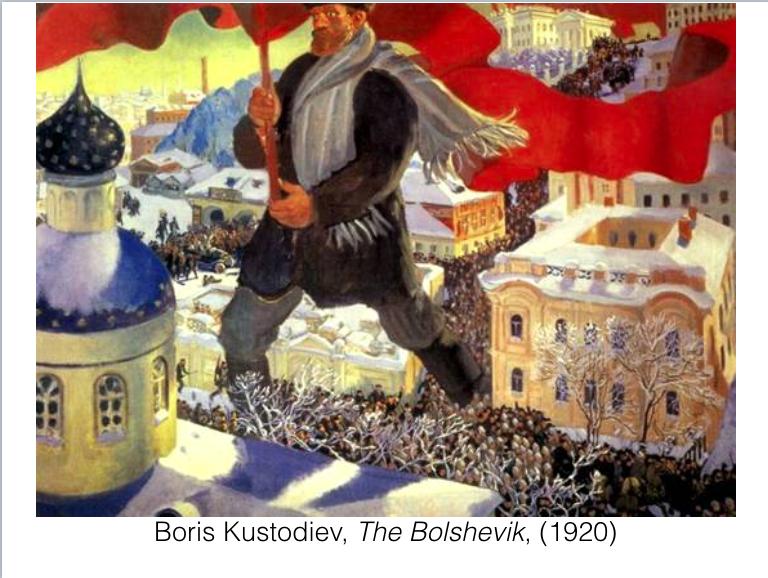 Kustodiev Bolshevik 1920