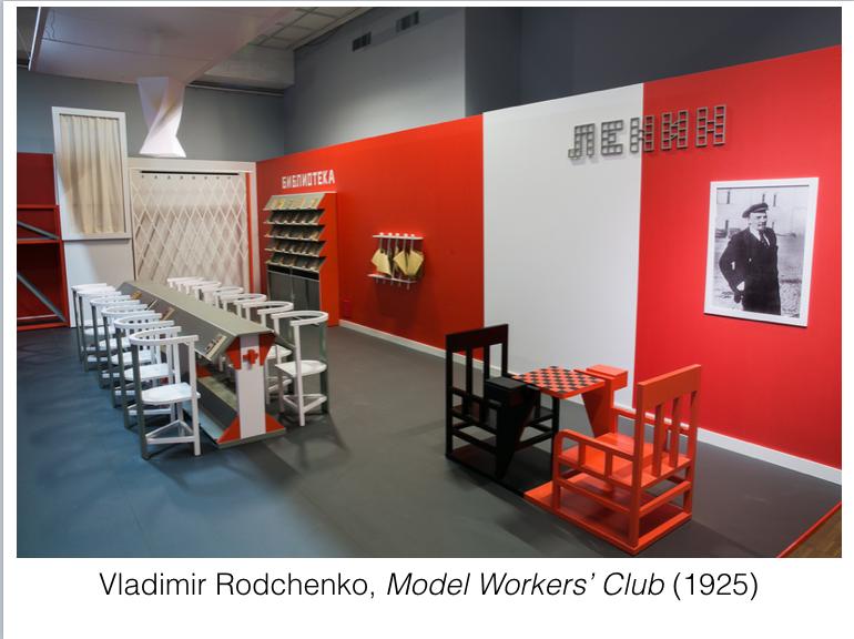 Rodchenko Model Workers Club 1925