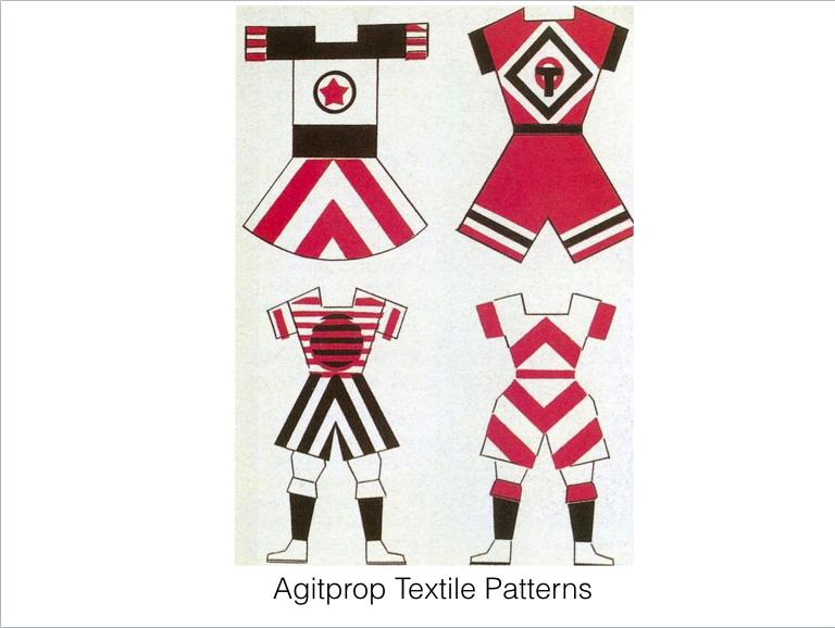 Agitational Textiles (Popova)